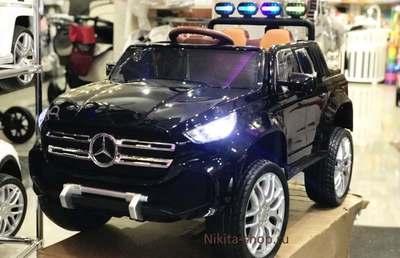 Mercedes-Benz PICKUP 4х4. Детский полноприводный автомобиль на резиновых колесах.