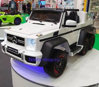 Mercedes-Benz G63-AMG 4WD A006AA (ЛИЦЕНЗИОННАЯ МОДЕЛЬ). Полноприводный.