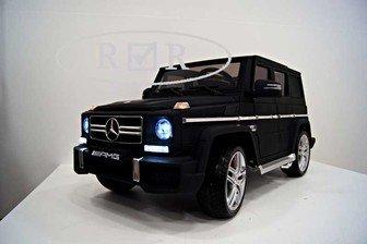 Электромобиль Mercedes-Benz G63 лицензионная модель VIP матовый..
