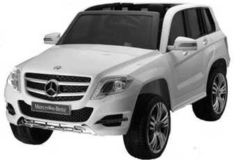 Mercedes-Benz GLK300 (ЛИЦЕНЗИОННАЯ МОДЕЛЬ) на резиновых колесах, кожа.