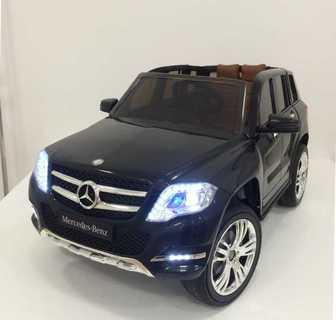 Детский джип Mercedes-Benz GLK300 (ЛИЦЕНЗИОННАЯ МОДЕЛЬ) на резиновых колесах, кожа.