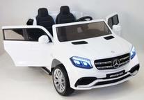 Полноприводный двухместный джип MERCEDES-BENZ GLS63-AMG на резиновых колесах