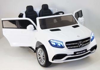 Полноприводный двухместный электромобиль MERCEDES-BENZ GLS63-AMG на резиновых колесах