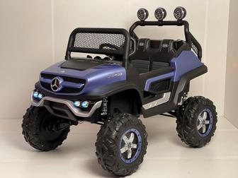 Mercedes-Benz mini Unimog Concept P777BP 4WD. Лицензионная модель на резиновых колесах.