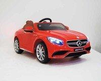 Детский электромобиль Mercedes-Benz S63 AMG лицензионная модель.