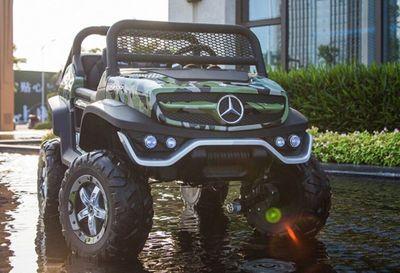 Mercedes-Benz Unimog Concept. Лицензионная модель на резиновых колесах.