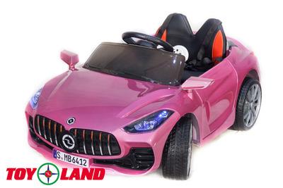 Детский электромобиль Mercedes Benz SPORT на резиновых колесах