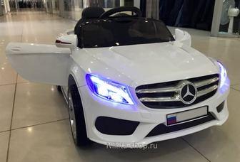 Детский электромобиль Mercedes Cabrio на резиновых колесах.