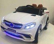 Детский джип Mercedes E009KX на резиновых колесах