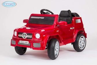 Детский электромобиль BARTY М001МР (Mercedes) (HL-1058) на резиновых колесах