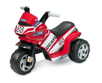 Peg-Perego Ducati Mini. Детский электромотоцикл на трех колесах.