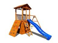 Детская площадка Можга Спортивный городок 5 с качелями и домиком
