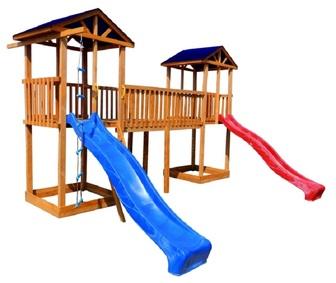 Детская площадка Можга Спортивный городок 6 (Крыша Тент)