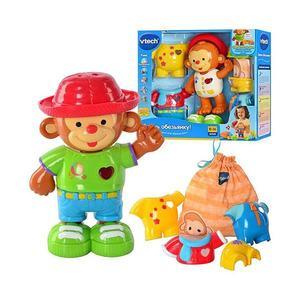 VTECH Одень обезьянку. Интерактивная игрушка.