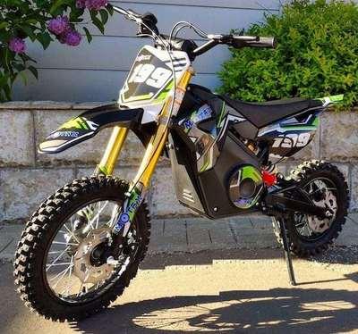 MOTAX 1100W Мини кросс электрический. Детский мотоцикл.