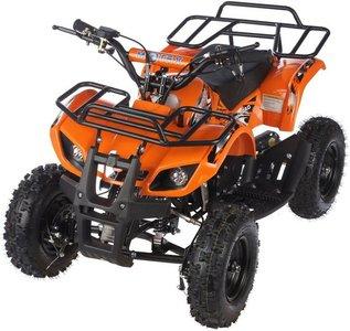 MOTAX ATV Х-16 Мини-Гризли с электростартером и пультом, квадроцикл детский бензиновый
