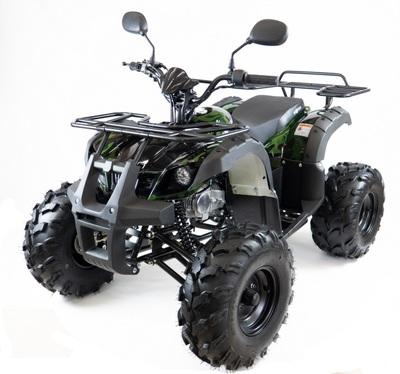 MOTAX ATV Grizlik-8 1+1. Бензиновый квадроцикл для подростков.