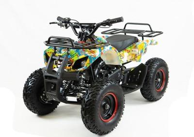 MOTAX ATV Х-16 BIGWHEEL (БОЛЬШИЕ КОЛЕСА), электростартер, пульт. Детский бензиновый квадроцикл.