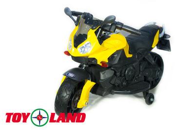 Moto JC 917. Детский мотоцикл на резиновых колесах..