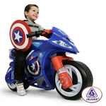 INJUSA Moto Capitan America 6469. Аккумуляторный мотоцикл 6V INJUSA Moto Capitan America 6469.