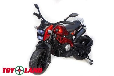 Moto sport (DLS01). Детский мотоцикл на резиновых колесах.