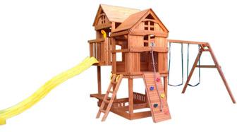 Можга с горкой. Детский игровой комплекс. (Р955-1)