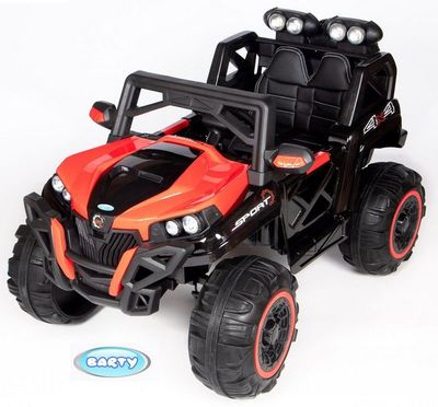 BARTY BAGGU T777MP. Детский электромобиль с монитором MP4.