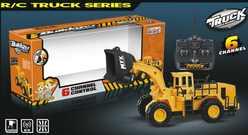 Бульдозер на пульте радиоуправления MYX 903A RC Builder truck