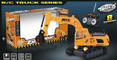 Экскаватор на пульте Д/У MYX 905-1A RC Builder truck