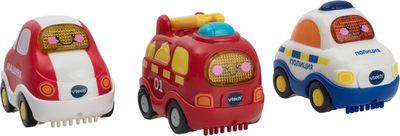 VTECH Набор 3в1: пожарная/полицейская/машинка Бип-Бип Toot-Toot Drivers.