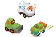 VTECH Бип-Бип Toot-Toot Drivers. Набор 3в1: самолет/бульдозер/гонка.
