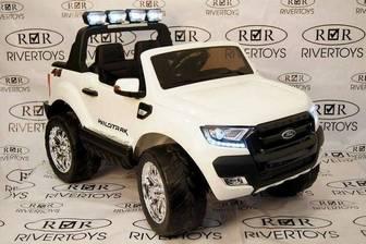 Двухместный электромобиль-джип NEW FORD RANGER 4WD (ЛИЦЕНЗИОННАЯ МОДЕЛЬ) с коробкой автомат