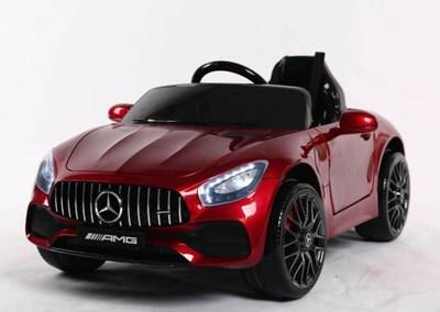MERCEDES-BENZ AMG GT O008OO. Детский автомобиль на резиновых колесах.