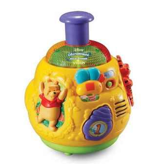 Развивающая игрушка Vtech «Обучающая юла Винни»