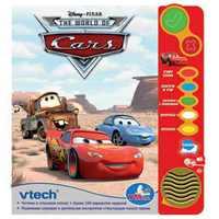 """Vtech """"Тачки"""". Обучающая книга Vtech """"Тачки""""."""