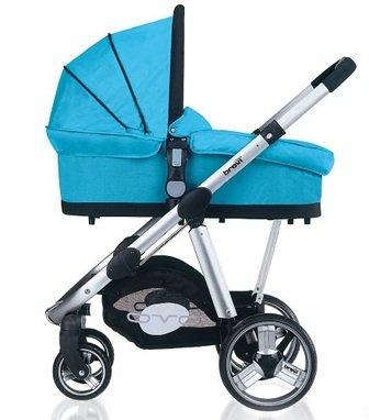 Комбинированная детская коляска 2 в 1 BREVI OVO