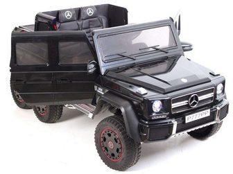 Mercedes-Benz G63 AMG 4WD P777PP. Детский внедорожник на шести колесах.