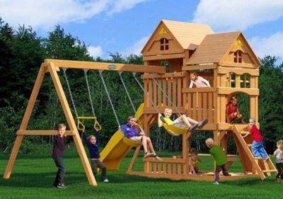 Можга Панорама с горкой. Детский игровой комплекс. (Р955-1)