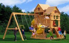 Можга Панорама с трубой. Игровая площадка детская. (Р955-2)