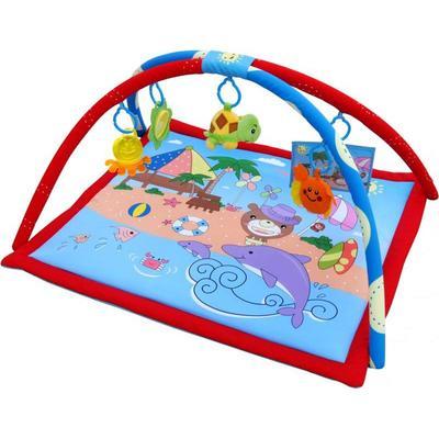"Детский развивающий коврик Barty ""Мишка на пляже"" (Н-РМ-005)"