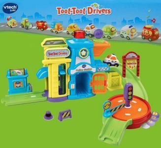 VTECH Полицейский участок Бип-Бип Toot-Toot Drivers.