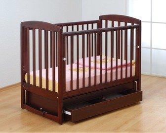 Детская кроватка Гандылян Полина New с поперечным мятниковым механизмом