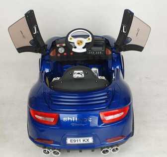 Porshe E911KX на резиновых колесах