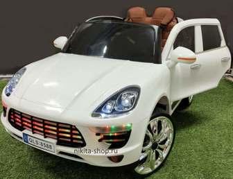 Детский электромобиль Porsche Macan QLS 8588 на резиновых колесах
