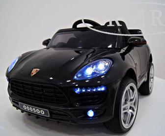 Детский электромобиль Porsche Macan O005OO VIP на резиновых колесах