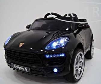 Детский электромобиль Porsche Macan O005OO на резиновых колесах.