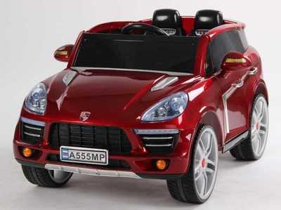 Электромобиль Porsche Cayenne на резиновых колесах
