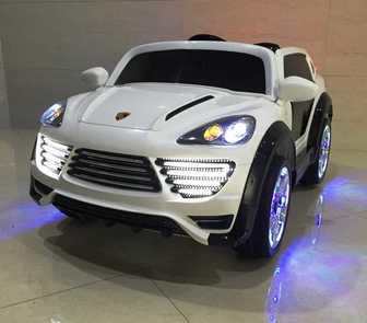 Детский электромобиль Porshe Cayenne Turbo О 001 ОО