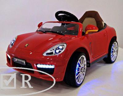 Porsche Panamera A444AA. Детский электромобиль с подсветкой колес.