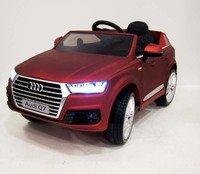 Электромобиль-джип AUDI Q7 Qattro (лицензионная модель) на резиновых колесах.